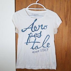 Aeropostale White T-Shirt